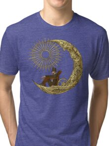 Moon Travel Tri-blend T-Shirt