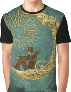 Moon Travel Graphic T-Shirt