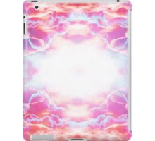 Purple and red fantasy clouds iPad Case/Skin