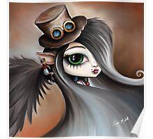 Steampunk Vampire Girl - Dark Angel Poster