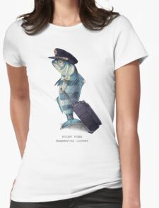 The Pilot Womens Fitted T-Shirt