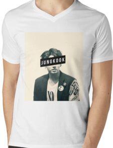BTS JungKook Mens V-Neck T-Shirt