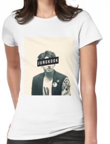 BTS JungKook Womens Fitted T-Shirt