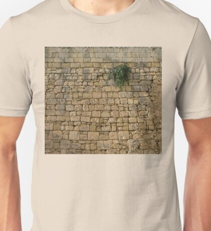 Life on Bare Rock - Up High on the Fortification Wall Unisex T-Shirt