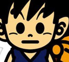 BAPE x Dragon Ball: Goku and Baby Milo Sticker
