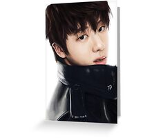 JIN Greeting Card