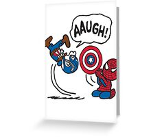 Stolen Shield Greeting Card