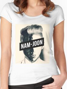 BTS Rap Monster - NamJoon Women's Fitted Scoop T-Shirt
