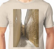 Sunshower - Rain and Sunshine in Mdina, the Ancient Capital of Malta Unisex T-Shirt