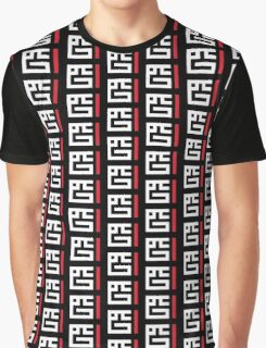 Ahmad - Square Kufic (White on Black) Graphic T-Shirt