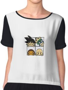 BAPE x Dragon Ball: Goku, Baby Milo, Krillin, Oolong, and Puar Chiffon Top
