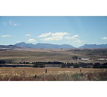 South African Open Farm Landscape Photographic Print