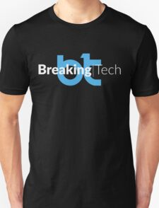 BreakingTech – Blu / Bianco (Nero) Unisex T-Shirt