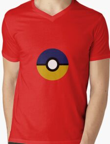 Ravenclaw Pokeball (Ravenball?) Book Colours Mens V-Neck T-Shirt