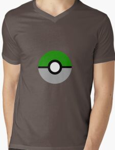 Slytherin Pokeball (Slytherball?) Mens V-Neck T-Shirt