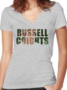Russell Coights Women's Fitted V-Neck T-Shirt