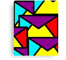 You Got Mail. Coloured Abstract Canvas Print