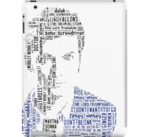 David Tennant as Doctor Who the Time Lord Triumphant  iPad Case/Skin