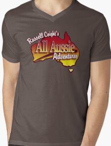 Russell Coight's Mens V-Neck T-Shirt