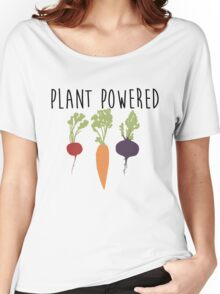 Plant Powered - Vegan Women's Relaxed Fit T-Shirt