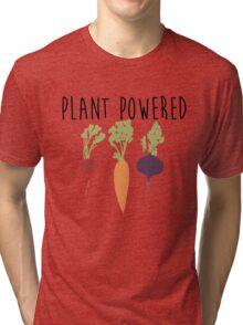 Plant Powered - Vegan Tri-blend T-Shirt