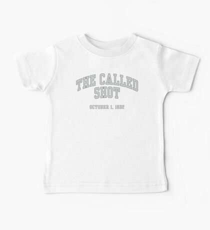 The Called Shot Baby Tee