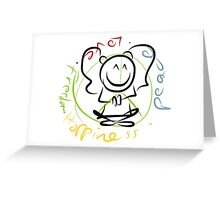 Lilly_Peace Greeting Card
