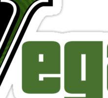 GTA Style Vegan Logo  Sticker