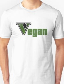 GTA Style Vegan Logo  T-Shirt