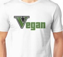 GTA Style Vegan Logo  Unisex T-Shirt