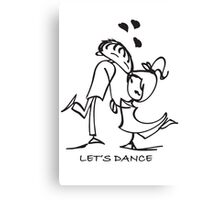 Let's Dance - Canvas Print