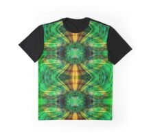 Futuristic green and yellow sphere Graphic T-Shirt