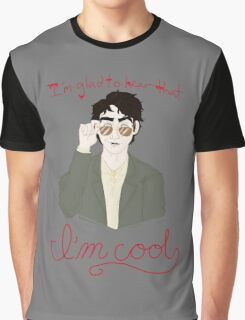 You're a Cool Guy but you're not pulling your weight in ze flat... Graphic T-Shirt