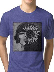 Sunflower Girl Tri-blend T-Shirt