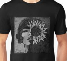 Sunflower Girl Unisex T-Shirt