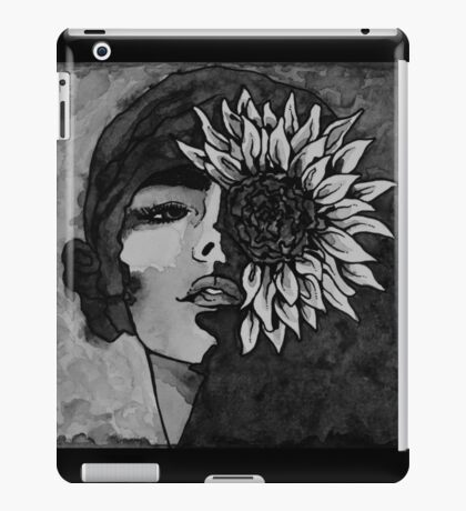 Sunflower Girl iPad Case/Skin