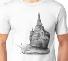 The Snail's Dream (Monochrome) Unisex T-Shirt