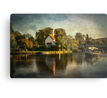 The River At Goring on Thames Metal Print