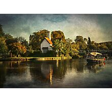 The River At Goring on Thames Photographic Print
