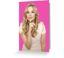 Hanna Marin Ashley Benson PLL Pretty Little Liars Greeting Card