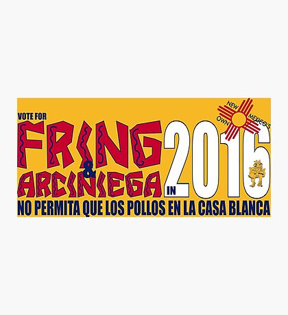 Fring in 2016 Photographic Print