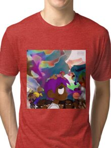 uzi vs the world Tri-blend T-Shirt