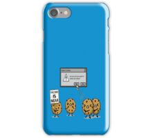 DELETE THE COOKIES iPhone Case/Skin
