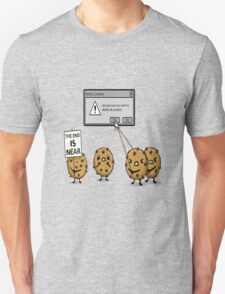 DELETE THE COOKIES Unisex T-Shirt