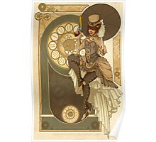 Steampunk Nouveau  Poster