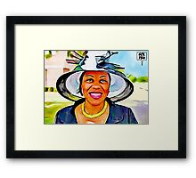 MOTHER DAY BEST Framed Print