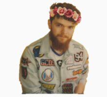 Jack Garratt Flower Crown One Piece - Long Sleeve