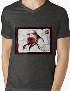 """Daruma Bum""  Mens V-Neck T-Shirt"