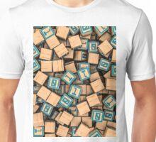 Binary blocks Unisex T-Shirt