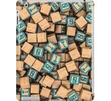 Binary blocks iPad Case/Skin